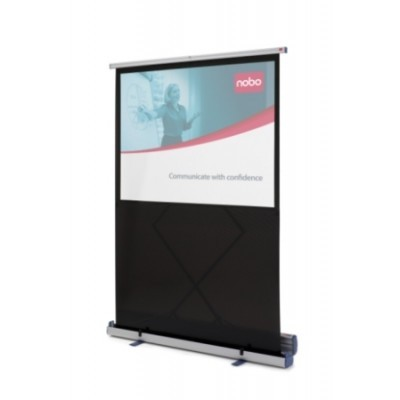 NOBO Portable Floor Screen š119 x v90 -4:3,nožky