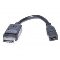 PremiumCord DisplayPort adapter na mini,   DP/Male - mini DP/Female
