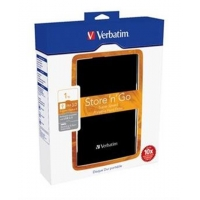"VERBATIM HDD 2.5"", 1TB, USB 3.0, Black"