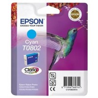 EPSON cartridge T0802 cyan