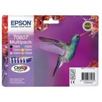 EPSON cartridge T0807 (6color) multipack