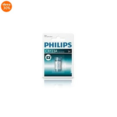 Baterie Philips Lithium CR123A 3 V