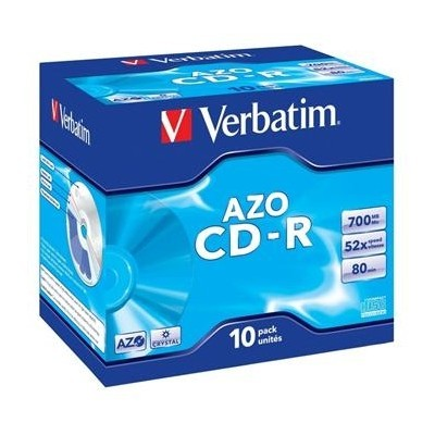 VERBATIM CD-R 80 52x CRYST. box 10pck/BAL