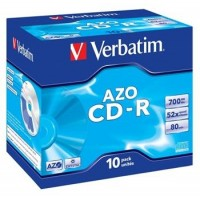 VERBATIM CD-R 80 52x CRYST. box 10ks