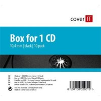 COVER IT box:1 CD jewel box + tray 10pck/BAL !!