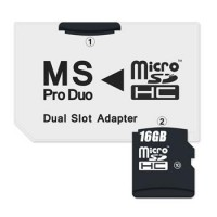 CONNECT IT Adapter MS PRO DUO 2x Micro SDHC DUAL SLOT