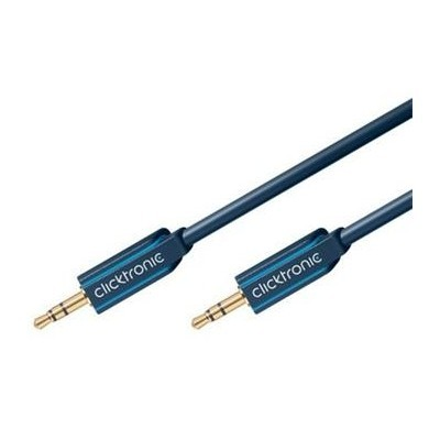 ClickTronic HQ OFC kabel Jack 3,5mm - Jack 3,5mm stereo, M/M, 3m