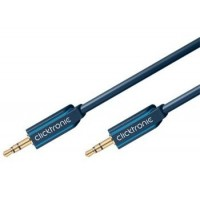 ClickTronic HQ OFC kabel Jack 3,5mm - Jack 3,5mm stereo, M/M, 1m