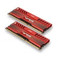 Patriot DD3 1600 MHZ Viper3,Venom Red, 2 x 4GB