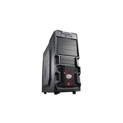 CoolerMaster case miditower K380, ATX,black,USB3.0