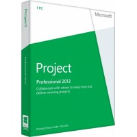 Microsoft Project Professional 2013 32/64bit. Czech, Product key