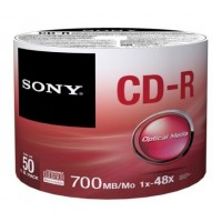 Média SONY CD-R  50CDQ-80SB,50ks pack