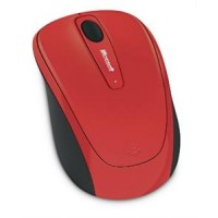 Microsoft Wrlss Mobile Mouse 3500 Flame Red Gloss