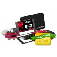 "120GB SSDNow V300 Kingston SATA3, 2.5"" 7mm, kit"