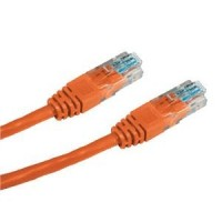Patch cord UTP cat.5e 1M oranžový