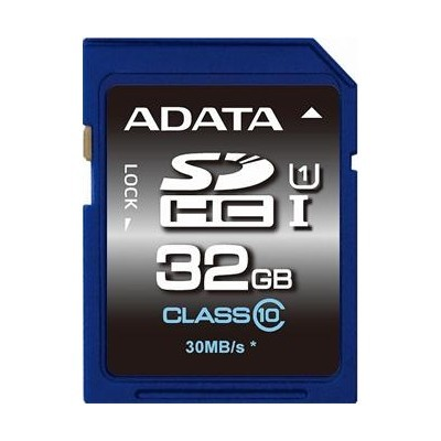 ADATA 32GB Secure Digital (SDHC) class 10/UHS-I Premier