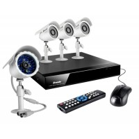 Kamerový set ZMODO DVR Kit-4CH Recorder+4xCMOS IR Camera (UMNP10011)
