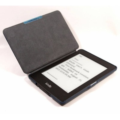 Pouzdro C-TECH AKC-05 pro Amazon Kindle Paperwhite, Wake/Sleep, - modré