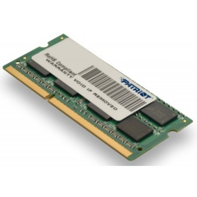 SO-DIMM 2GB DDR3-1333MHz PATRIOT CL9 SR