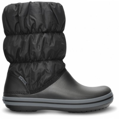 Crocs Winter Puff Boot Women Black/Charcoal, W8 (38-39)