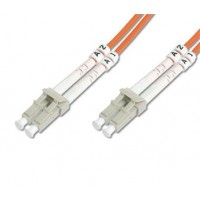DIGITUS Fiber Optic Patch Cord, LC to LCMultimode 50/125 µ, Duplex Length 7m