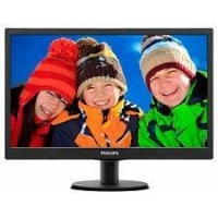 "19"" LED Philips 193V5LSB2-1366x768, VGA,200cd,VESA"