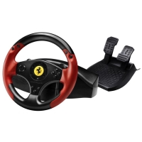 Thrustmaster Sada volantu a pedálů Ferrari Red Legend Edition pro PS3 a PC…