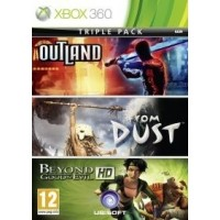 X360 Beyond Good&Evil+Outland+From Dust pack