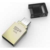 Flash disk Silicon Power Mobile X10, 32GB, USB 2.0 OTG + microUSB