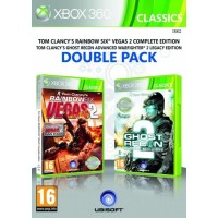X360 GR Advance Warfighter&Rainbow 6 Vegas2