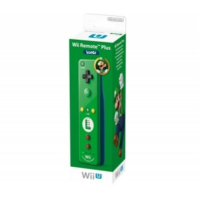Wii U Remote Plus Luigi Edition