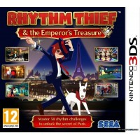 3DS Rhythm Thief & The Emperors Treasure