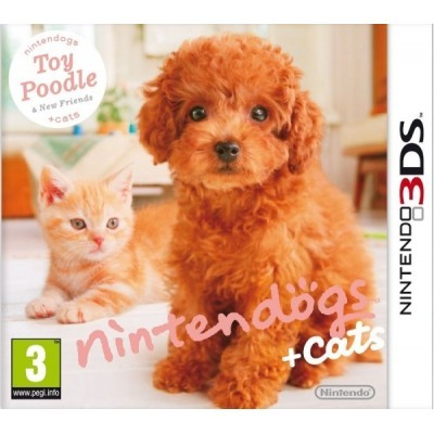 3DS Nintendogs+Cats - Toy Poodle