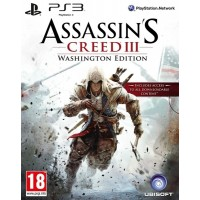 PS3 Assassins Creed III. Washington Edition