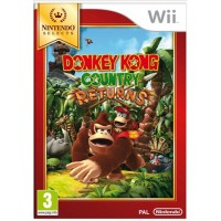 Wii Donkey Kong Country Returns Select