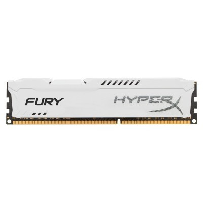 4GB DDR3-1333MHz Kingston HyperX Fury White