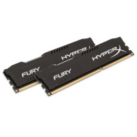 8GB DDR3-1600MHz Kingston HyperX Fury Black, 2x4GB