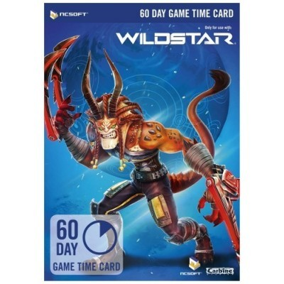 WildStar 60 Day Game Time Card