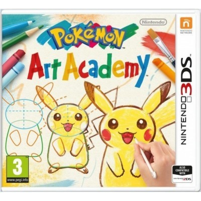 3DS Pokemon Art Academy