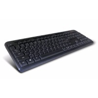 C-TECH CZ/SK KB-102M USB slim black multimediální