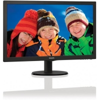 "24"" LED Philips 243V5LHAB- Full HD,DVI,HDMI,rep (243V5LHAB/00)"