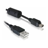 DeLock mini USB (12-pin) kabel pro Olympus, A-B, USB 2.0, 1m