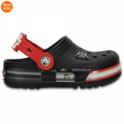 Crocs Lights Star Wars Darth Vader - Black/Flame, C10 (27-28)
