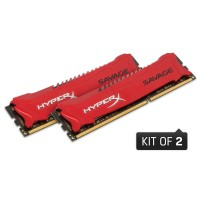16GB DDR3-1600MHz CL9 Kingston Savage XMP, 2x8GB
