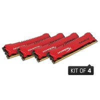 32GB DDR3-2400MHz CL11 Kingston Savage XMP, 4x8GB