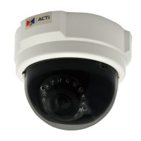 ACTi E52,F.Dome,1M,ID,f3.6mm,PoE,WDR,IR