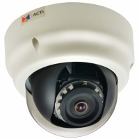 ACTi B51,F.Dome,5M,ID,f1.9mm,PoE/DC,WDR,IR
