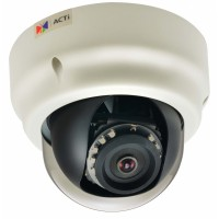 ACTi B52,F.Dome,10M,ID,f3.6mm,PoE/DC,WDR,IR