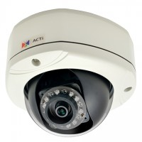 ACTi E76,F.Dome,2M,OD,f3.6mm,PoE,WDR,IR