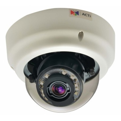ACTi B64,Z.Dome,1.3M,ID,f3-9mm,PoE/DC,WDR,IR